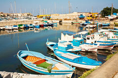 View of Fisherman's boats Royalty Free Stock Photo