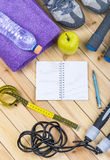 View Of Fitness Equipment Stock Photography