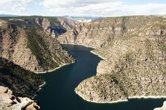 View of Flaming Gorge Stock Photos