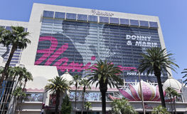 A View of the Flamingo in Las Vegas, Nevada Royalty Free Stock Photos