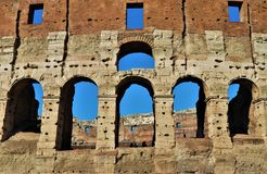 Rome, Italy - Colosseum view. stock images