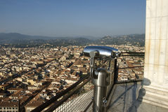 View of Florence. From the catherdral dome Stock Photo