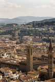 View of Florence from the campanile Giotto Royalty Free Stock Image