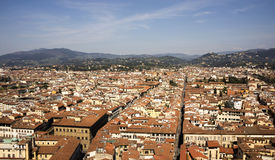 View of Florence from the campanile Giotto Stock Image