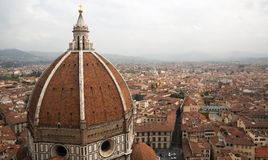View from Florence Cathedral, Firenze (Florence), Italy Royalty Free Stock Photography