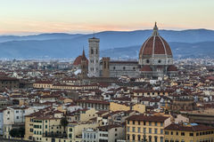 View of Florence Cathedral, Italy Stock Images