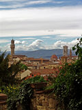 View on florence city. italy.  stock image