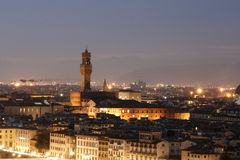 View on Florence city. italy. Royalty Free Stock Images