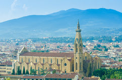 View of Florence Royalty Free Stock Photos