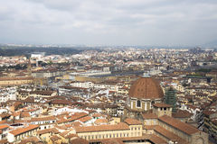 View of Florence with the Duomo Royalty Free Stock Photos
