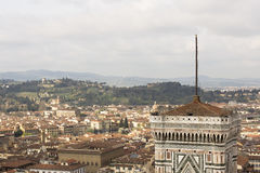 View of Florence with the Duomo Stock Photos
