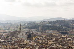 View of Florence with the Duomo Stock Image
