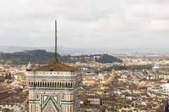 View of Florence with the Duomo Royalty Free Stock Image