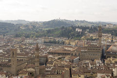 View of Florence with the Duomo Stock Photo