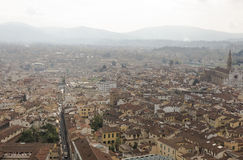 View of Florence with the Duomo Royalty Free Stock Photo