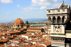 View of Florence with the Duomo Royalty Free Stock Photography