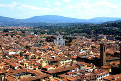 View of Florence with the Duomo Royalty Free Stock Images