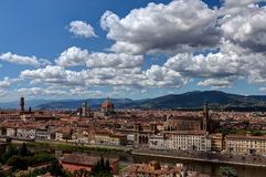 View Florence, Firenze, Tuscany, Italy royalty free stock images