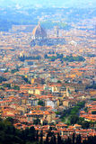 View at Florence and her cathedral, Italy Stock Photo