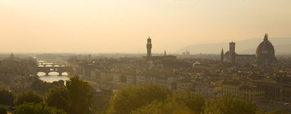 View of Florence, Italy Royalty Free Stock Images