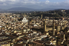 View on Florence in Italy Stock Photo