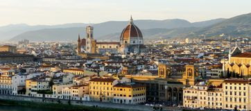 View of florence Italy Stock Photo