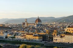 View of florence Italy Stock Images