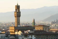 View of florence Italy Royalty Free Stock Photos