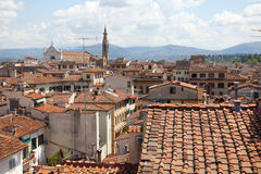 View on  Florence Royalty Free Stock Photos