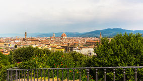 View of Florence from Piazzale Michelangelo Stock Photography