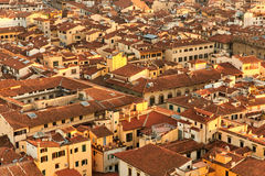 View of Florence roofs Stock Images
