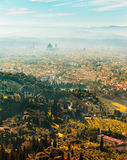 View of Florence at sunset, Italy. Royalty Free Stock Photography