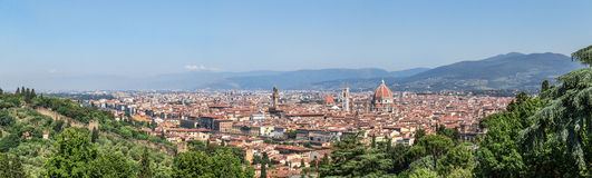 View of Florence in Tuscany Royalty Free Stock Photo