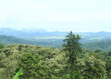 View from Flores mountains Royalty Free Stock Photos