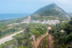 View from the Flying Dutchman Funicular at Cape Point Stock Photography
