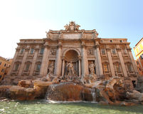 View of Fontana di Trevi Royalty Free Stock Images