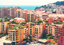View of Fontvieille Royalty Free Stock Images
