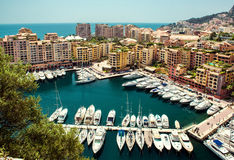 View of Fontvieille Royalty Free Stock Image