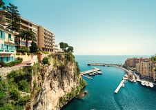 View of Fontvieille Royalty Free Stock Photography
