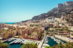 View of Fontvieille Stock Photography