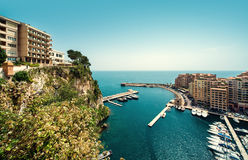 View of Fontvieille Stock Images