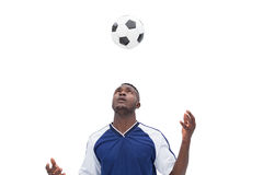 View of football player playing Stock Images