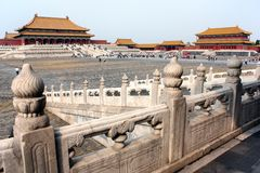 View from forbidden city - Beijing, china Stock Image