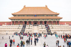 View of the Forbidden City, Palace Museum. Stock Image
