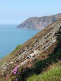 View of Foreland Point, North Devon Stock Photography