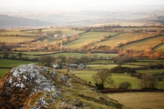 View form Brentor Royalty Free Stock Photo