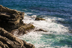 View form Genoa, Nervi Royalty Free Stock Photo