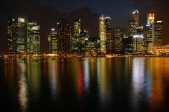 View form Marina Bay Sands Hotel Stock Photo