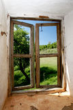 View form an old window Royalty Free Stock Images