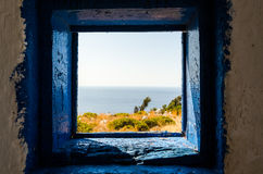View form old window Royalty Free Stock Photography
